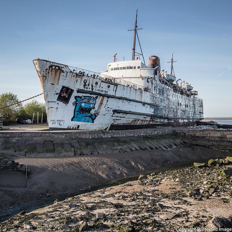 TSS Duke of Lancaster aka The Fun Ship, Mostyn, Flintshire.
