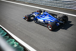 November 10, 2017 - Sao Paulo, Sao Paulo, Brazil - Nov, 2017 - Sao Paulo, Sao Paulo, Brazil - MARCUS ERICSSON/Sauber. Free practice this Friday (10), for the Brazilian Grand Prix of Formula One that takes place next Sunday at the Autodromo de Interlagos in São Paulo. (Credit Image: © Marcelo Chello via ZUMA Wire)