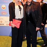 NLD/Amsterdam/20111010 - Premiere All Stars 2, Caroline Spoor en Jon Karthaus