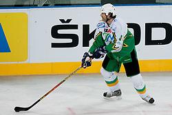 Robert Ciglenecki during ice-hockey friendly match between legends of HDD Tilia Olimpija and HK Acroni Jesenice, on April 14, 2012 at SRC Stozice, Ljubljana, Slovenia. (Photo By Matic Klansek Velej / Sportida.com)