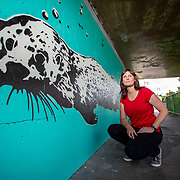 LCCC Otter Mural