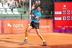 October 4, 2018 - Campinas, Brazil - CAMPINAS, SP - 04.10.2018: ATP CHALLENGER CAMPINAS - Thomaz Bellucci in a match that will be played for the eighth-finals of the ATP Challenger in Campinas, held this Thursday in the interior of the city of São Paulo. (Credit Image: © Fabio Leoni/Fotoarena via ZUMA Press)