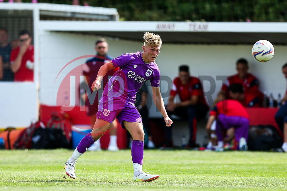 Jake Andrews of Bristol City - Rogan/JMP - 09/07/2017 - The Creek - Bristol, England - Bristol Manor Farm v Bristol City - Pre-season Friendly.
