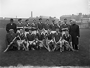 31/03/1957<br /> 03/31/1957<br /> 31 March 1957<br /> National Hurling League: Dublin v Cork at Croke Park, Dublin. Cork Team.
