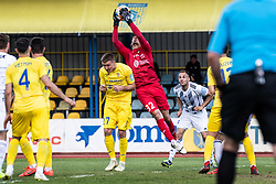 Santini Krsevan of NK Domzale during Football match between NK Domzale and NS Mura in 30th Round of Prva liga Telekom Slovenije 2018/19, on May 1st, 2019, in Sports park Domzale, Slovenia. Photo by Grega Valancic / Sportida