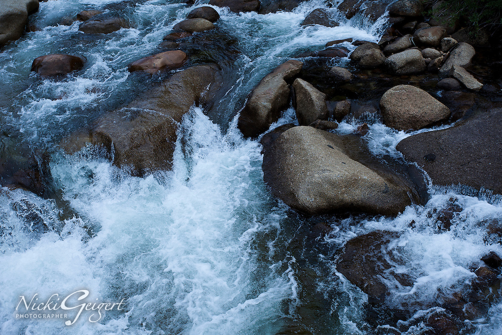 Water, Rushing Water over Rocks.<br /> MG2724
