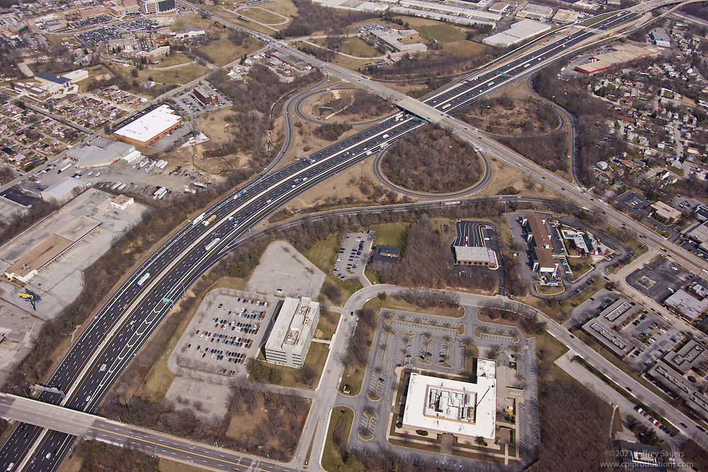 3700 Koppers Street in Baltimore Maryland office park aerial photography by Jeffrey Sauers of Commercial Photographics