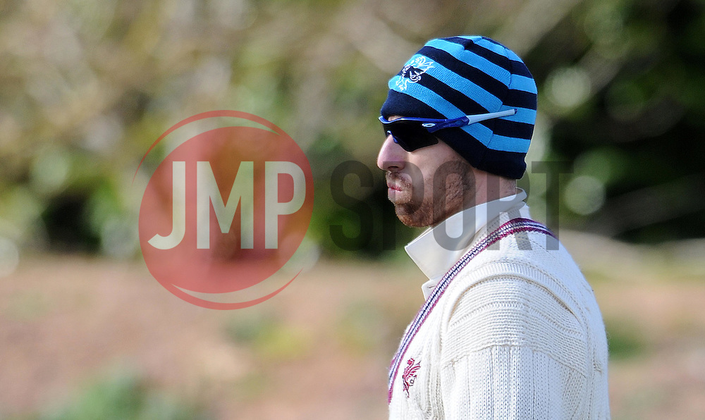 Somerset's Jack Leach - Photo mandatory by-line: Harry Trump/JMP - Mobile: 07966 386802 - 24/03/15 - SPORT - CRICKET - Pre Season Fixture - Day 2 - Somerset v Glamorgan - Taunton Vale Cricket Club, Somerset, England.
