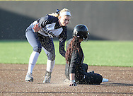 March 7, 2014: The Southwestern Oklahoma State University Bulldogs play against the Oklahoma Christian University Lady Eagles at Tom Heath Field at Lawson Plaza on the campus of Oklahoma Christian University.