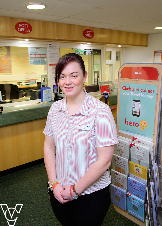 Skellingthorpe Post Office have performed particularly well over busy periods, including Christmas.  Pictured is Emily Nelson.<br /> <br /> Picture: Chris Vaughan Photography<br /> Date: February 7, 2017