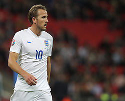 Harry Kane of England - Mandatory byline: Paul Terry/JMP - 07966 386802 - 09/10/2015 - FOOTBALL - Wembley Stadium - London, England - England v Estonia - European Championship Qualifying - Group E