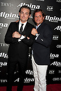 Kevin Zegers, and Ralph Simons, U.S. President of Frederique Constant / Alpina Watches