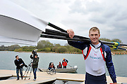 Caversham, Great Britain. Alex GREGORY,  2012 GB Rowing World Cup Team Announcement Wednesday  04/04/2012  [Mandatory Credit; Peter Spurrier/Intersport-images]