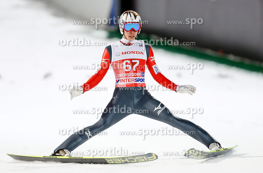 28.12.2013, Schattenbergschanze, Oberstdorf, GER, FIS Ski Sprung Weltcup, 62. Vierschanzentournee, Qualifikation, im Bild Taku Takeuchi (JPN) // Taku Takeuchi of Japan during Qualification of 62th Four Hills Tournament of FIS Ski Jumping World Cup at Schattenbergschanze, Oberstdorf, Germany on 2013/12/28. EXPA Pictures © 2013, PhotoCredit: EXPA/ Peter Rinderer
