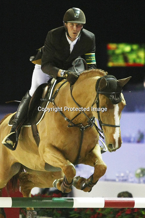 Equitation : Gucci Masters - 03.12.2010 - Prix Le Figaro CSI5 - Kevin Staut (FRA/sur Banda de Hus) *** Local Caption *** 00042820