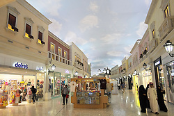 Interior of Villaggio shopping mall in Doha Qatar