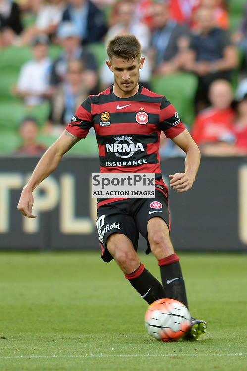 Dario Vidovic of Western Sydney Wanderers FC - Hyundai A-League, January 9th 2016, RD14 match between Melbourne City FC v Western Sydney Wanderers FC at Aami Park in a 3:2 win to City. Melbourne, Australia. © Mark Avellino | SportPix.org.uk