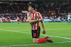 March 2, 2019 - Sunderland, England, United Kingdom - Sunderland's Luke O'Nien shows his irritation at a decision during the Sky Bet League 1 match between Sunderland and Plymouth Argyle at the Stadium Of Light, Sunderland on Saturday 2nd March 2019. (Credit Image: © Mi News/NurPhoto via ZUMA Press)