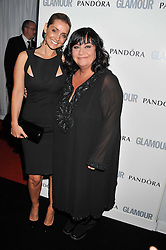 Left to right, LOUISE REDKNAPP and DAWN FRENCH at the Glamour Women of The Year Awards 2011 held in Berkeley Square, London W1 on 7th June 2011.