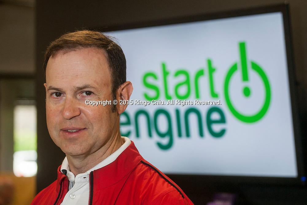 Howard Marks, managing director of StartEngine.(Photo by Ringo Chiu/PHOTOFORMULA.com)