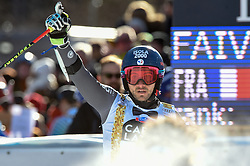 18.12.2016, Grand Risa, La Villa, ITA, FIS Weltcup Ski Alpin, Alta Badia, Riesenslalom, Herren, 2. Lauf, im Bild Mathieu Faivre (FRA 2. Platz) // Second Place Mathieu Faivre of France reacts after his 2nd run of men's Giant Slalom of FIS ski alpine world cup at the Grand Risa in La Villa, Italy on 2016/12/18. EXPA Pictures © 2016, PhotoCredit: EXPA/ Erich Spiess