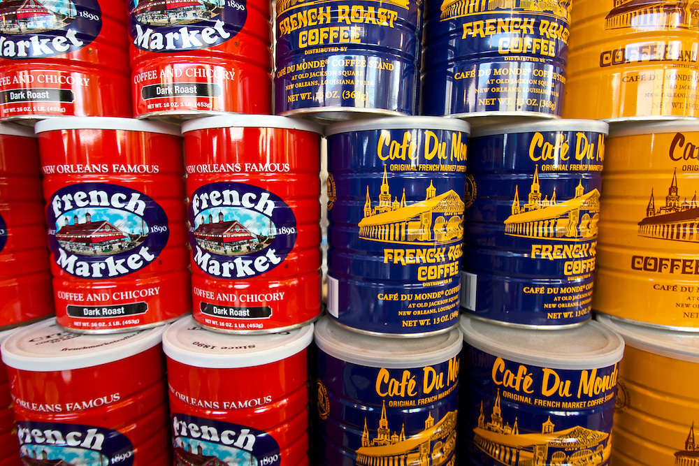 Coffee Cans, French Market, New Orleans, LA