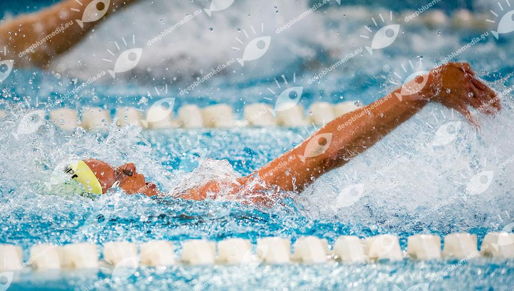 Federica Pellegrini - CC Aniene<br /> 100m Backstroke Women<br /> IV Trofeo Citta di Milano Swimming Nuoto<br /> Day02 - 8 March 2014<br /> D. Samuele Swimming Pool<br /> Milano Italy<br /> Photo G.Scala/Deepbluemedia/Inside