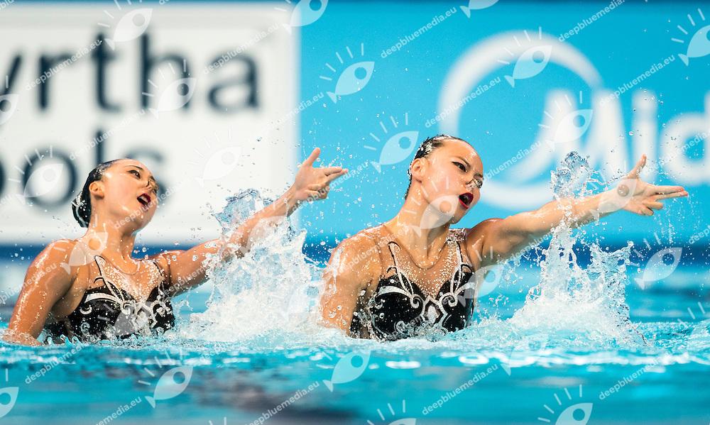 China CHN<br /> HUANG Xuechen CHN<br /> SUN Wenyan CHN<br /> Duet Technical Preliminary<br /> Day3 26/07/2015<br /> XVI FINA World Championships Aquatics<br /> Synchro<br /> Kazan Tatarstan RUS July 24 - Aug. 9 2015 <br /> Photo Pasquale Mesiano/Deepbluemedia/Insidefoto