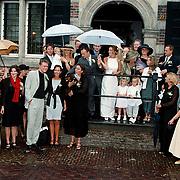 Huwelijk Kees Ruiters en Chantal Wurster, familiefoto