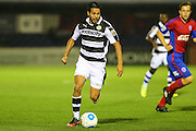 Forest Green Rovers Fabien Robert(26) runs forward during the Vanarama National League match between Aldershot Town and Forest Green Rovers at the EBB Stadium, Aldershot, England on 4 October 2016. Photo by Shane Healey.