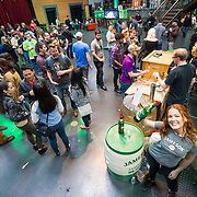 Seattle Scotch and Beer Fest 2018. Overhead view of the Jameson Barrel Room. Photo by Alabastro Photography. #SSBF