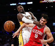 Basketball: 20170312 Los Angeles Lakers vs Philadelphia 76ers