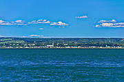 The island of Isle-Verte in the St. Lawrence River<br />L'Isle-Verte<br /> L'Isle-Verte<br />Quebec<br />Canada