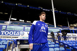LIVERPOOL, ENGLAND - Tuesday April 3, 2012: Everton's Joao Silva before a training session at Goodison Park ahead of the FA Cup Semi-Final Merseyside Derby match with city rivals Liverpool at Wembley. (Pic by Vegard Grott/Propaganda)