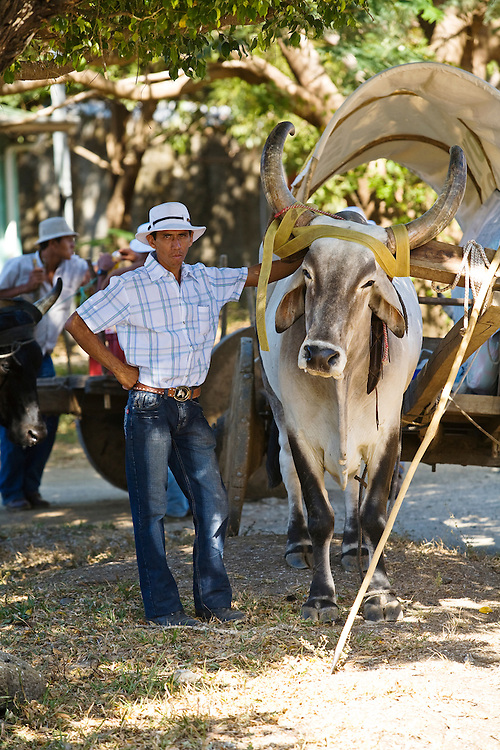 Ox carts have ben used in Guanacaste for hundreds of years. Although few are still built, all are used on a daily basis