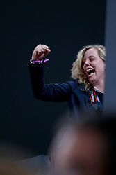 ARNS-KROGMANN Christine (Pferdebesitzer)<br /> Paris - FEI World Cup Finals 2018<br /> FEI World Cup Dressage Freestyle/Kür<br /> www.sportfotos-lafrentz.de/Stefan Lafrentz<br /> 14. April 2018