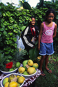 Tropical fruit, Rarotonga, Cook Islands, (editorial use only, no model release)<br />