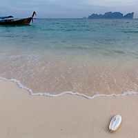 Long Beach at Koh Phi Phi Leh Island.