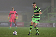 Forest Green Rovers Sam Hendy(36) during the Gloucestershire Senior Cup match between Forest Green Rovers and U23 Bristol City at the New Lawn, Forest Green, United Kingdom on 9 April 2018. Picture by Shane Healey.