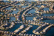 The Arrowhead community's lakes, filled with reclaimed water, are configured to maximize the potential for waterfront development.