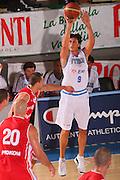 DESCRIZIONE : Bormio Torneo Internazionale Maschile Diego Gianatti Italia Polonia <br /> GIOCATORE : Marco Mordente <br /> SQUADRA : Nazionale Italia Uomini Italy <br /> EVENTO : Raduno Collegiale Nazionale Maschile <br /> GARA : Italia Polonia Italy Poland <br /> DATA : 31/07/2008 <br /> CATEGORIA : Tiro <br /> SPORT : Pallacanestro <br /> AUTORE : Agenzia Ciamillo-Castoria/S.Silvestri <br /> Galleria : Fip Nazionali 2008 <br /> Fotonotizia : Bormio Torneo Internazionale Maschile Diego Gianatti Italia Polonia <br /> Predefinita :
