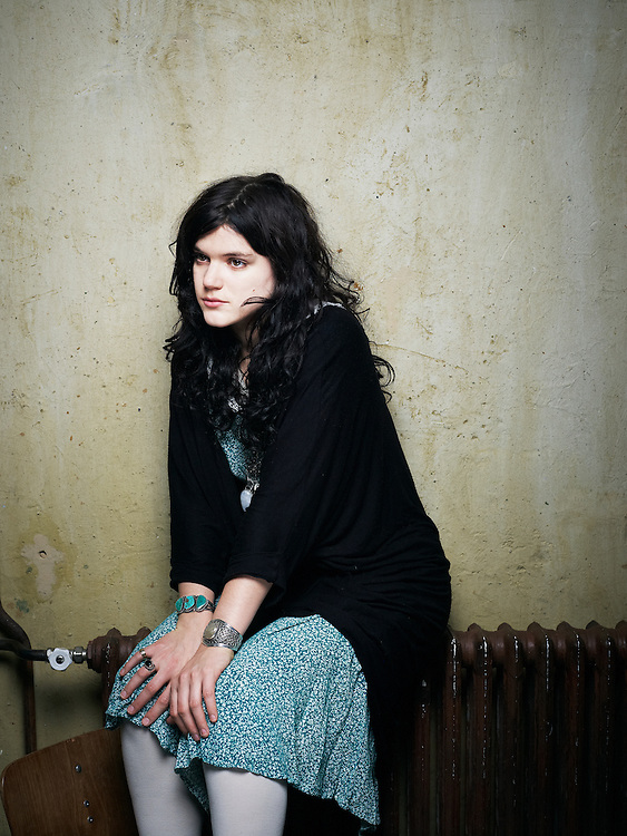 "PARIS, FRANCE. NOVEMBER 17, 2011. French singer ""Soko"" at the Comptoir General. Photo: Antoine Doyen"