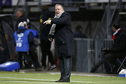 Coach Dick Advocaat of Sparta Rotterdam during the Dutch Eredivisie match between Sparta Rotterdam and PSV Eindhoven at the Sparta stadium Het Kasteel on February 10, 2018 in Rotterdam, The Netherlands