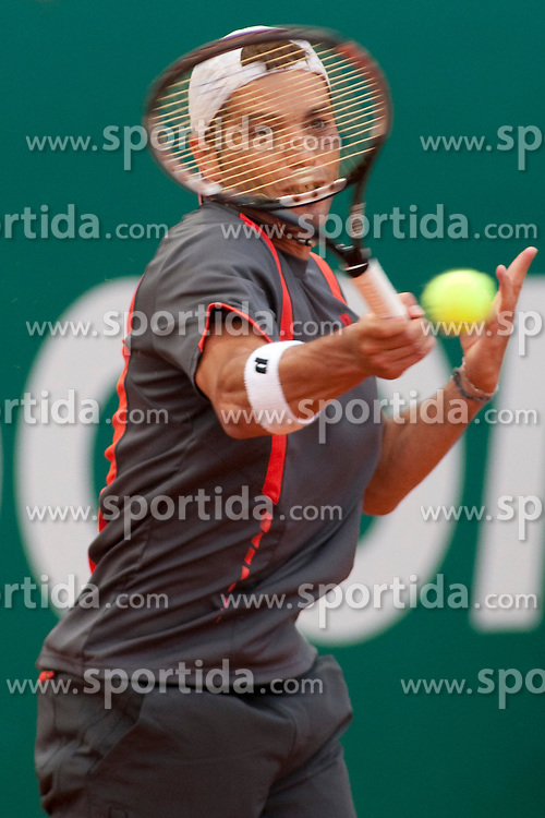17.04.2010, Country Club, Monte Carlo, MCO, ATP, Monte Carlo Masters, im Bild Albert Montane (ESP) in action during the semi-final match between Fernando Verdasco (ESP) and Albert Montane (ESP). EXPA Pictures © 2010, PhotoCredit:  EXPA/ M. Gunn / SPORTIDA PHOTO AGENCY