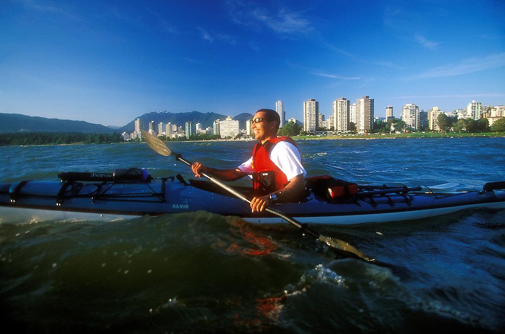 Kayak, Vancouver, Canada