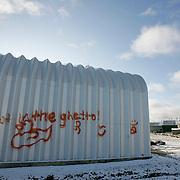 Grafitti.<br /> <br /> (Ian Stewart photo)