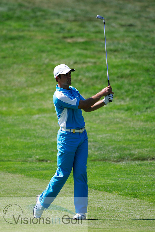 Alexandre Rocha during the second round  at the Omega European Masters 2006, Crans Montana, Switzerland, 8th September 2006<br /> Picture Credit: Mark Newcombe / visionsingolf.com