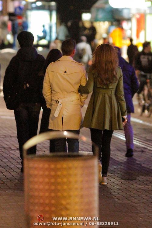 NLD/Amsterdam/20120416 - Glennis Grace en onbekende man,