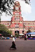High Court building, Yangon, Myanmar.