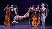 La Bayadere <br /> A ballet in three acts <br /> Choreography by Natalia Makarova <br /> After Marius Petipa <br /> The Royal Ballet <br /> At The Royal Opera House, Covent Garden, London, Great Britain <br /> General Rehearsal <br /> 30th October 2018 <br /> <br /> STRICT EMBARGO ON PICTURES UNTIL 2230HRS ON THURSDAY 1ST NOVEMBER 2018 <br /> <br /> <br /> Vadim Muntagirov as Solor <br /> A warrior <br /> <br /> <br /> <br /> Photograph by Elliott Franks Royal Ballet's Live Cinema Season - La Bayadere is being screened in cinemas around the world on Tuesday 13th November 2018 <br />